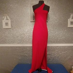 Red Formal Party Dress